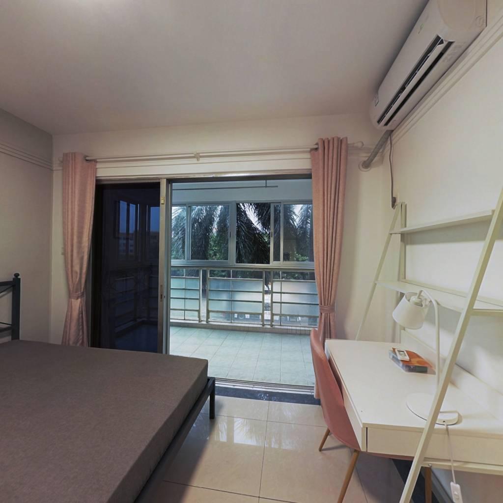 合租·白云尚城 3室1厅 东卧室图