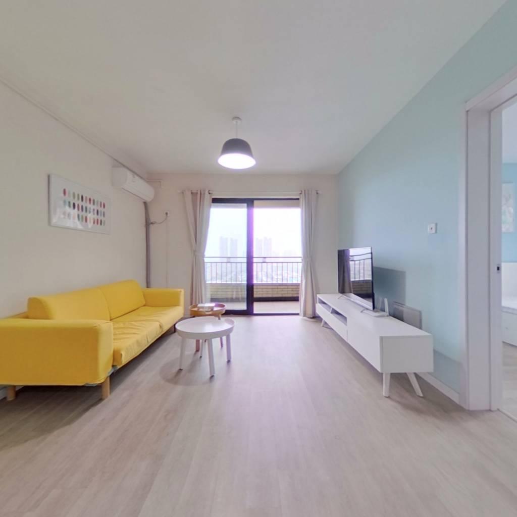 整租·绿地秋霞坊(公寓) 2室2厅 南卧室图