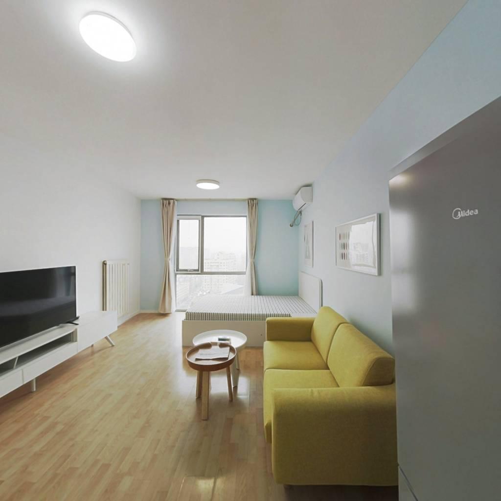 整租·炫特嘉园三期 1室1厅 北卧室图