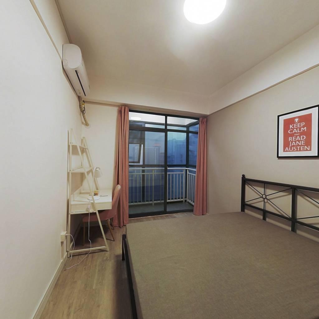 合租·阳光城央座 3室1厅 南卧室图