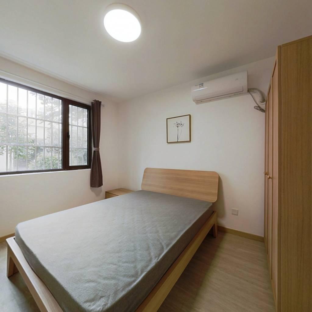 整租·崧泽华城佳福雅苑(五区) 1室1厅 南卧室图