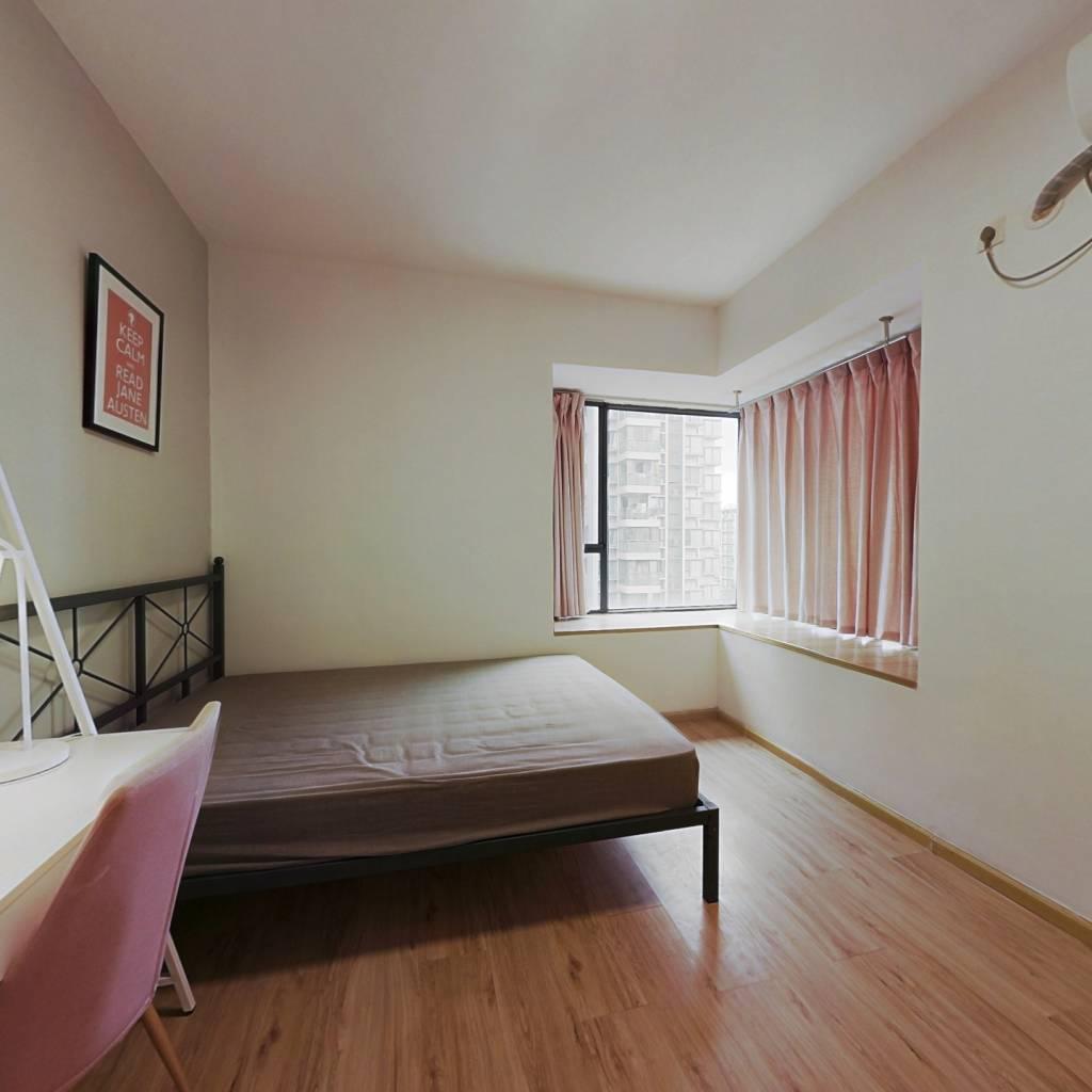合租·汇融名城C区 3室1厅 北卧室图