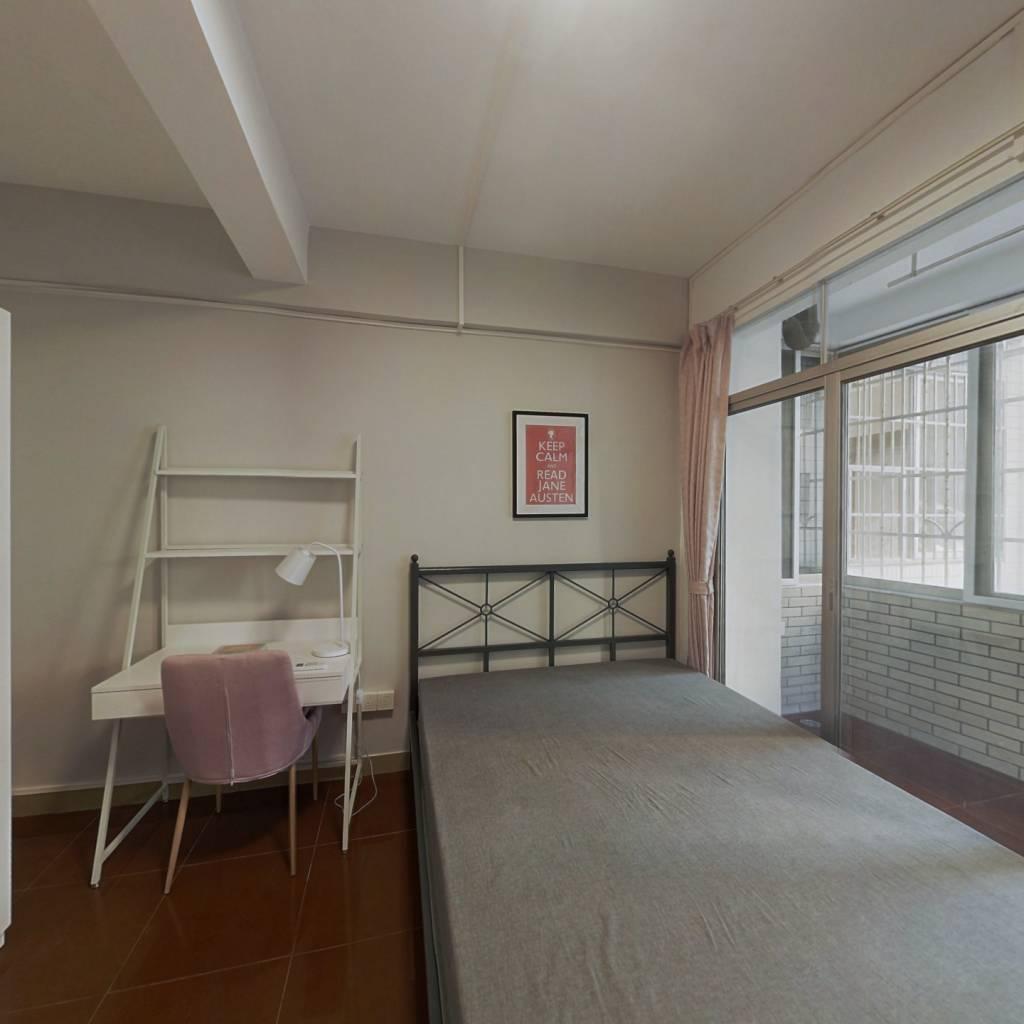 合租·六运小区 4室1厅 南卧室图