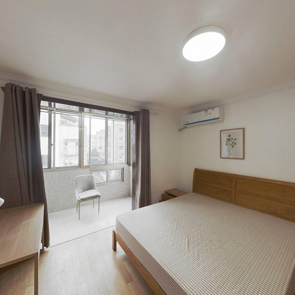 合租·梅川一街坊 2室1厅 南卧室图