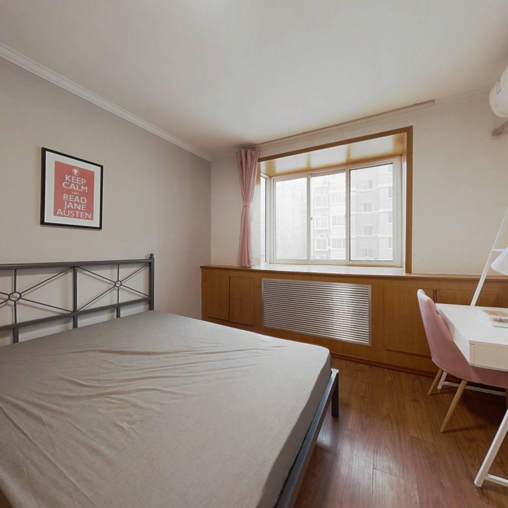 合租·鸿顺园西区 3室1厅 南卧室图