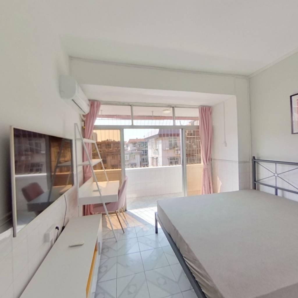 合租·灵芝新村 4室1厅 西南卧室图
