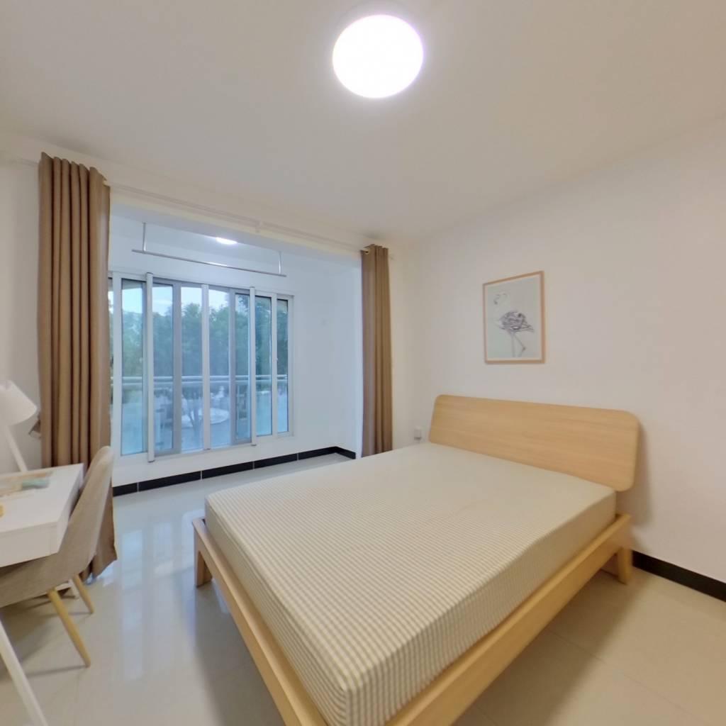 合租·爱博五村 3室1厅 北卧室图