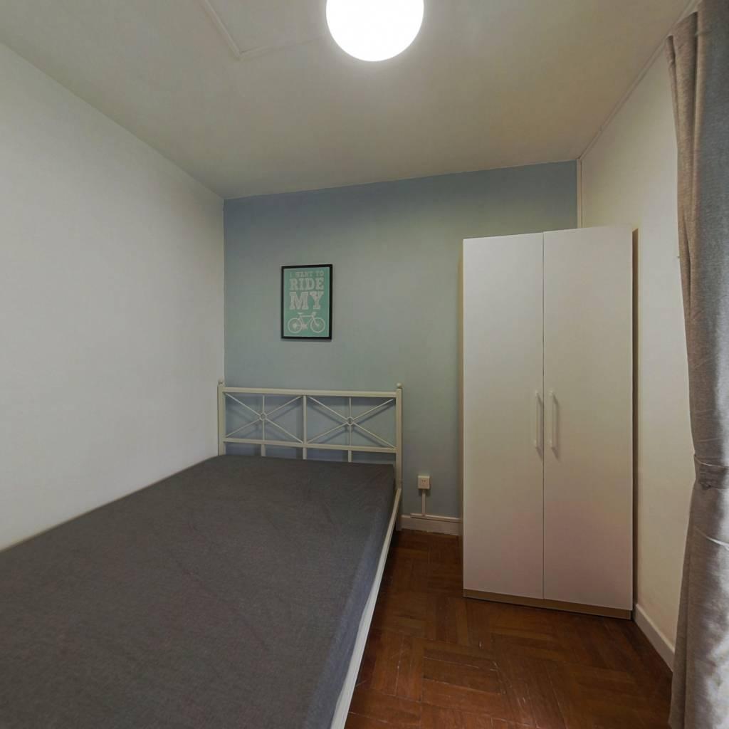 合租·天龙大厦 4室1厅 东卧室图