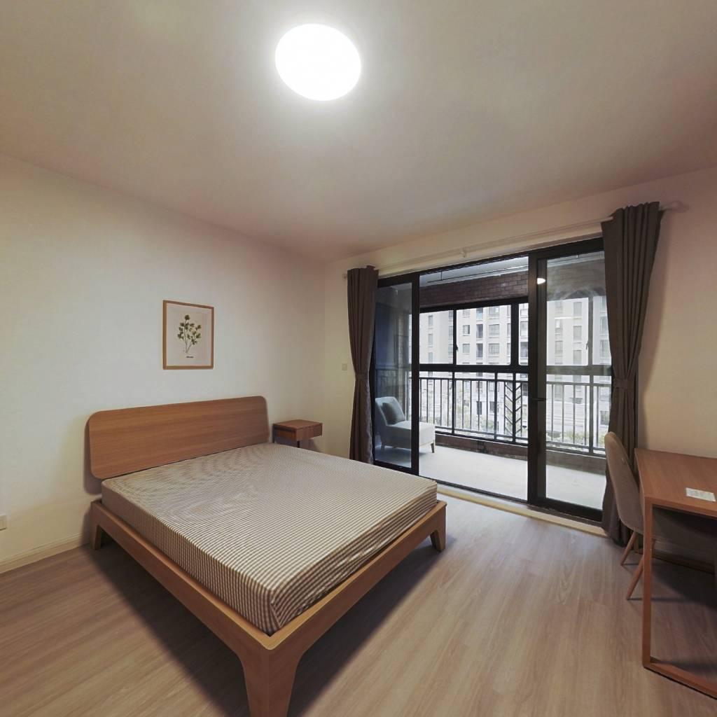 合租·中环国际公寓(三期) 4室1厅 北卧室图