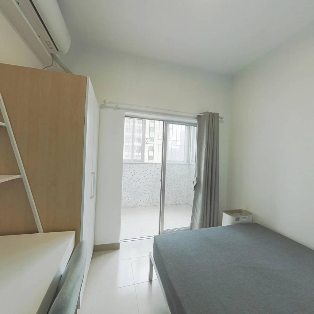 合租·穗园小区 4室1厅 南卧室图