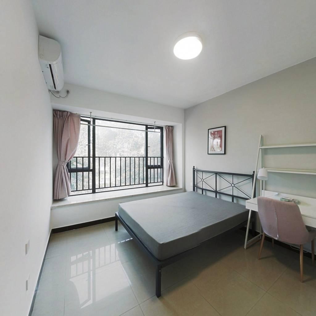 合租·万科新里程 3室1厅 北卧室图