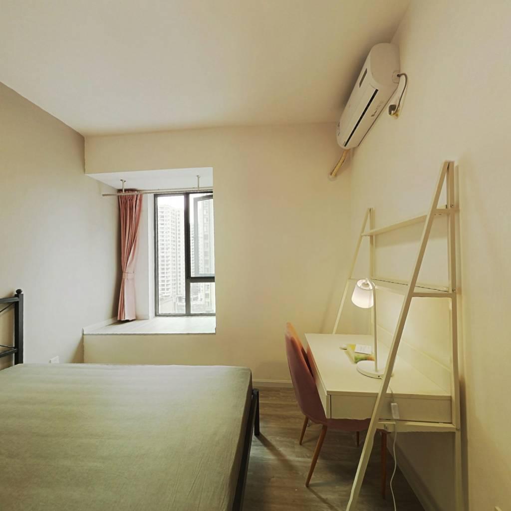 合租·紫御熙庭 4室1厅 南卧室图