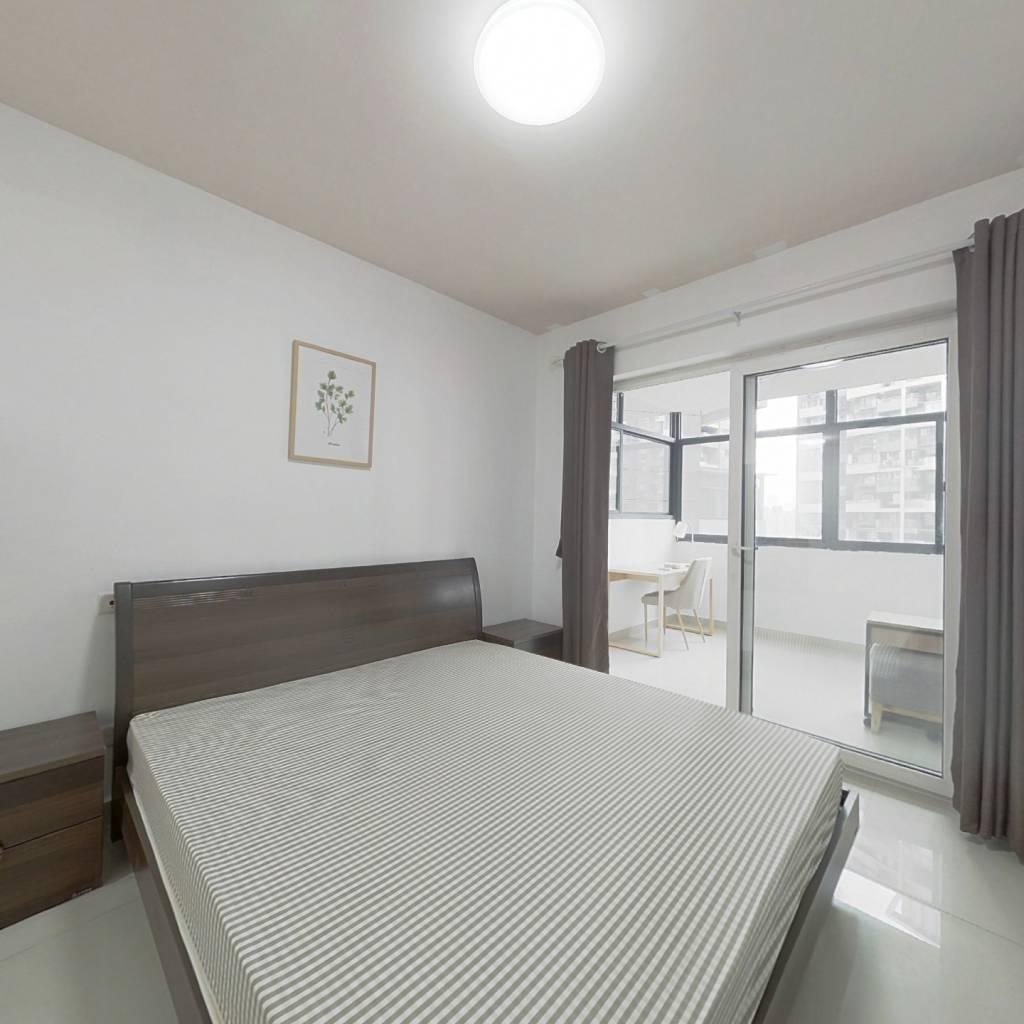 合租·蓝光凯丽香江 4室1厅 北卧室图
