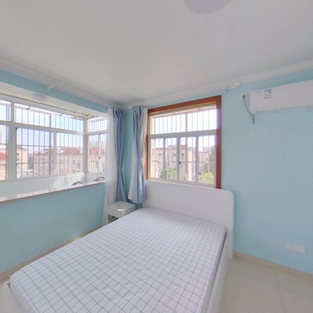 整租·上南十村 2室1厅 东南卧室图