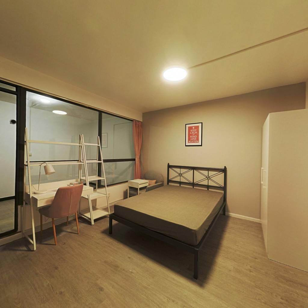 合租·英郡一期 4室1厅 南卧室图