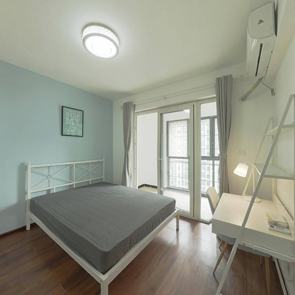 合租·上东一号一期 4室1厅 北卧室图