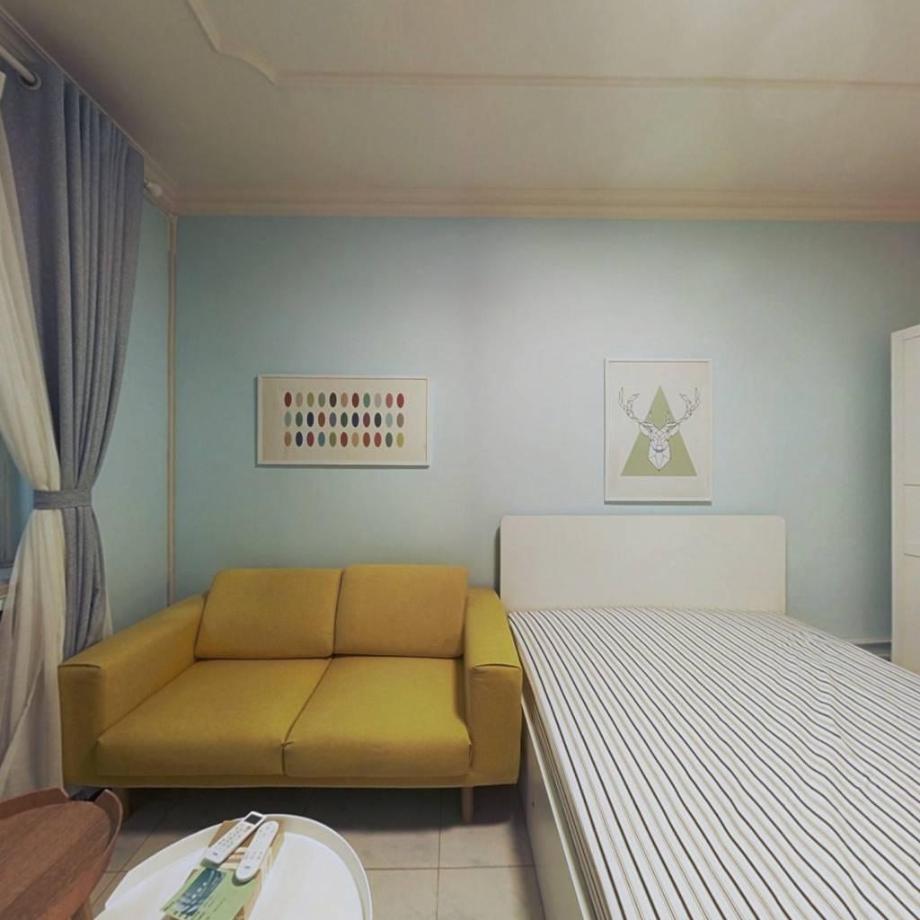 整租·互助南里 1室1厅 南卧室图