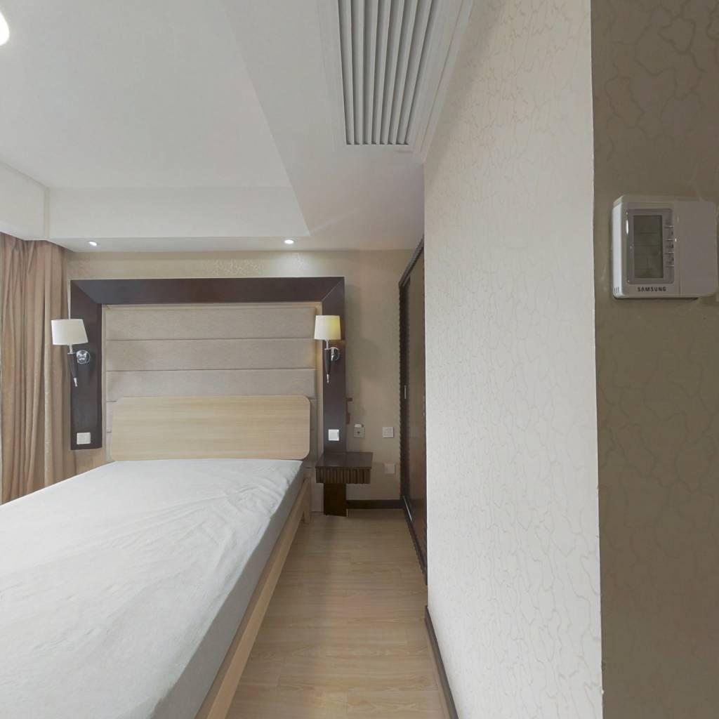 整租·绿地海怡公寓 1室1厅 南卧室图
