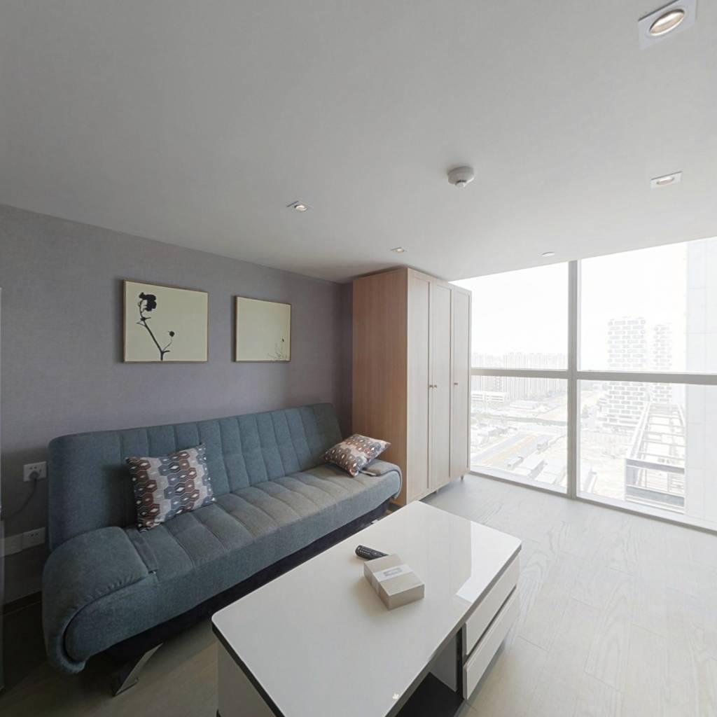 整租·欧美金融城 1室1厅 卧室图