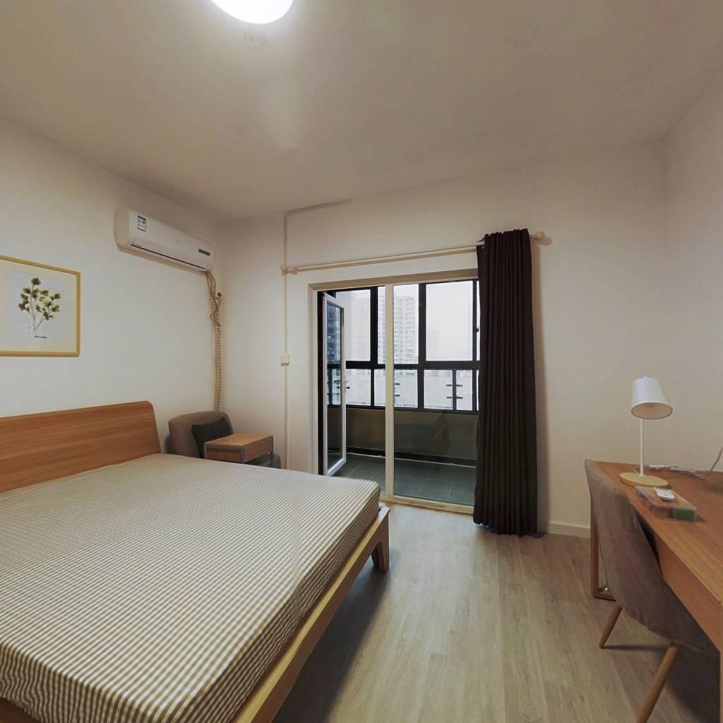 合租·汉口新界广场 5室1厅 南卧室图