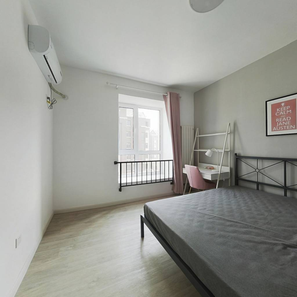 合租·首创城 4室1厅 南卧室图