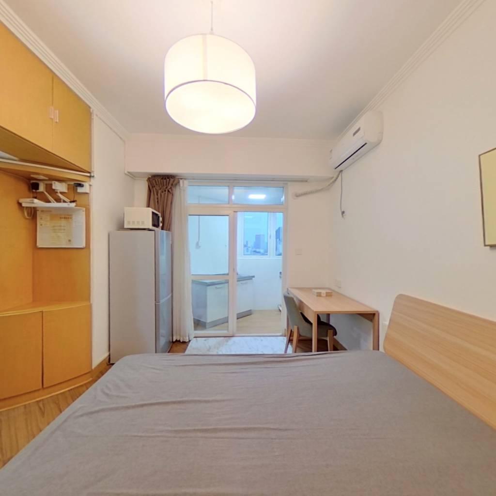 整租·云河大厦 1室1厅 北卧室图