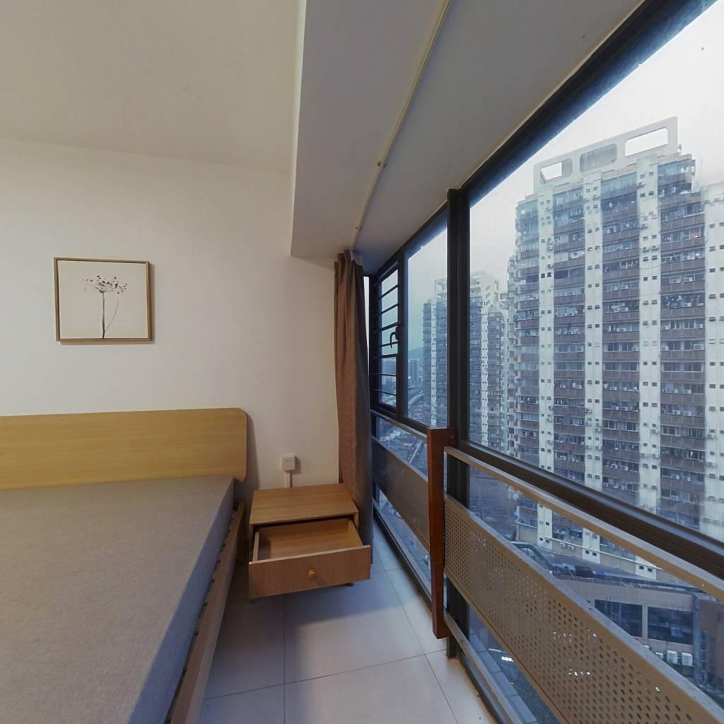 整租·城市主场 1室1厅 南卧室图
