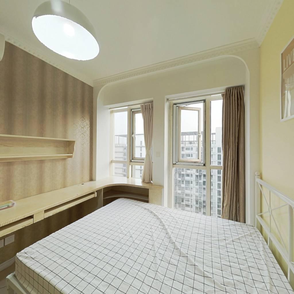 合租·首创爱这城一二期 4室1厅 南卧室图