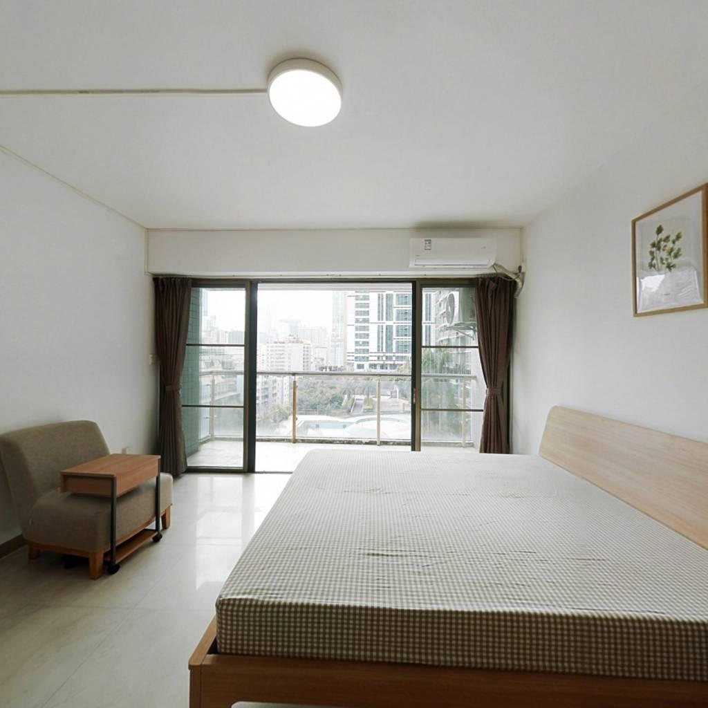 合租·都市华庭(天河) 4室1厅 南卧室图