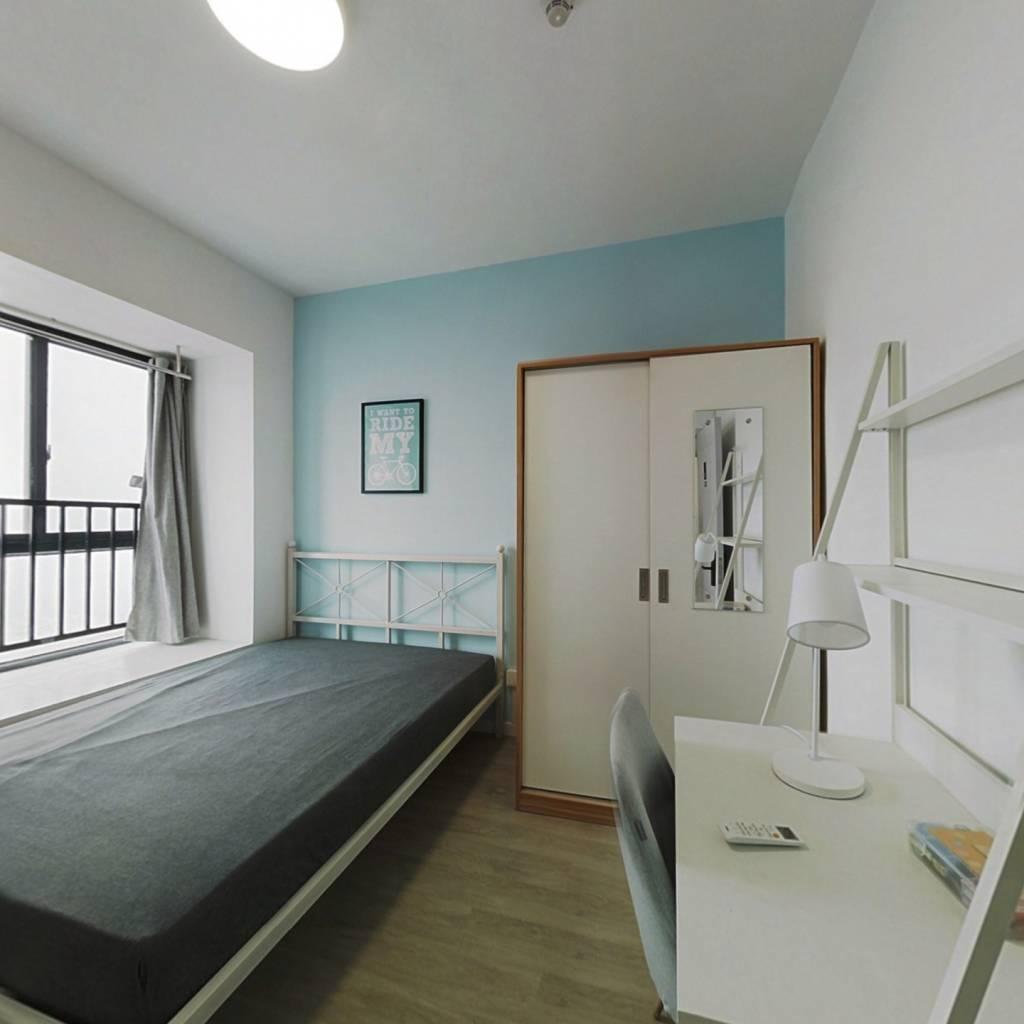 合租·金融街壹号 4室1厅 南卧室图