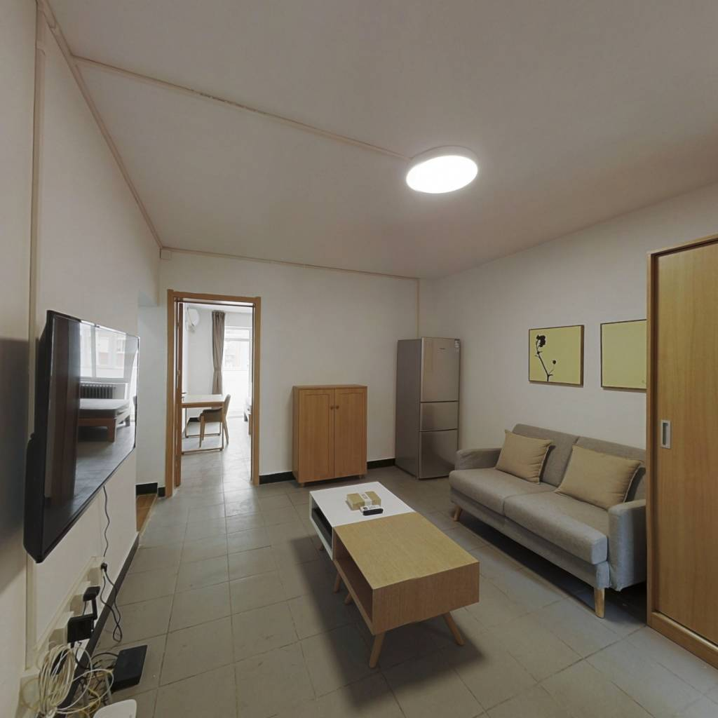整租·农光南路 2室1厅 西南卧室图