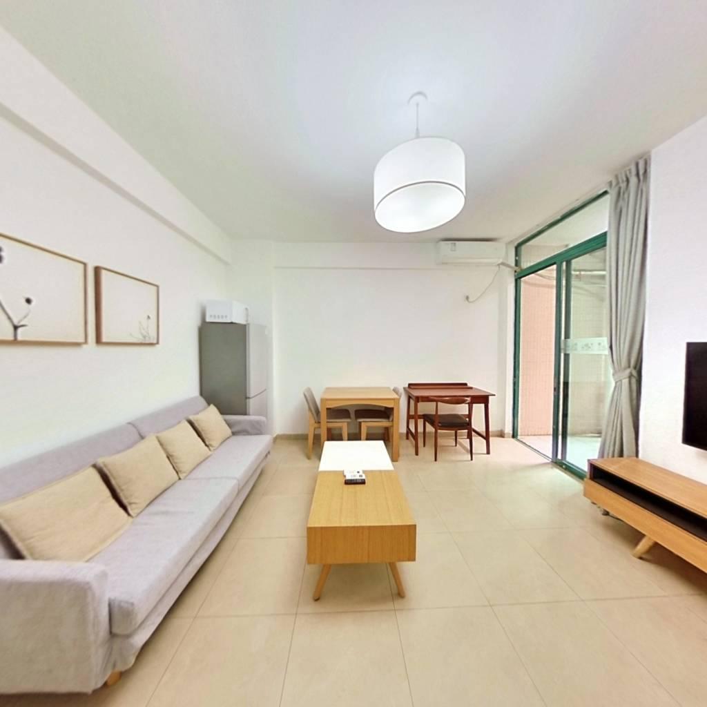 整租·香珠花园 1室1厅 西卧室图