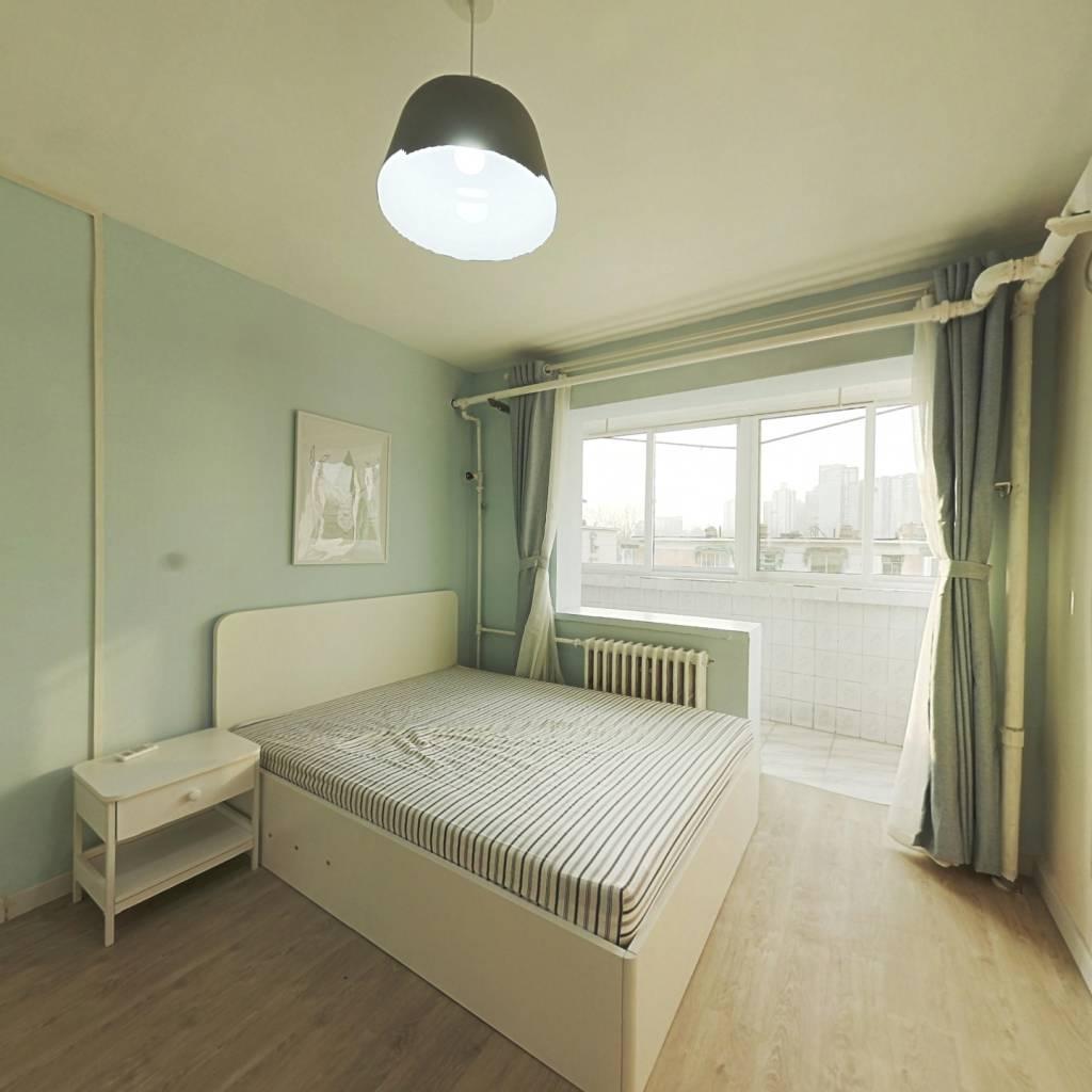 整租·大山子北里 1室1厅 西卧室图