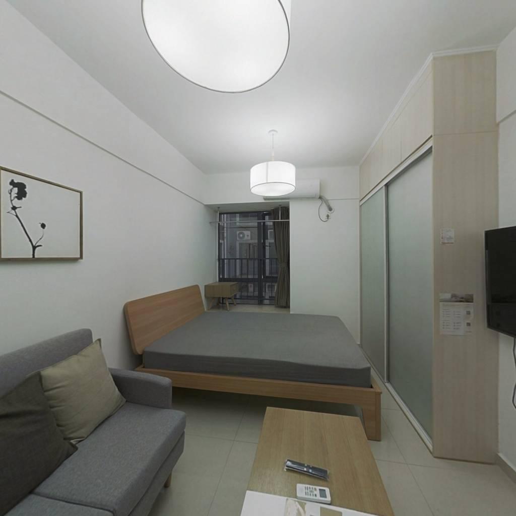 整租·易丰大厦 1室1厅 北卧室图