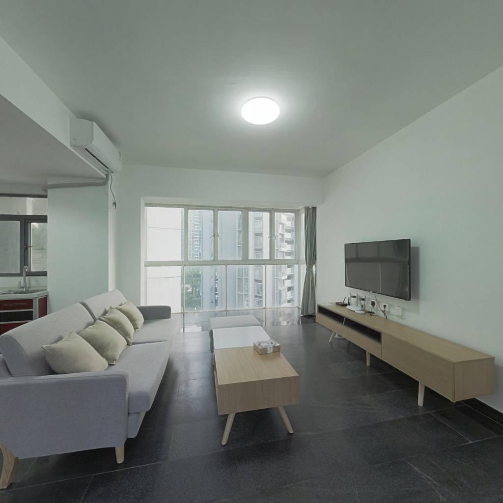 整租·第五大道高发西岸花园一期 2室1厅 东卧室图