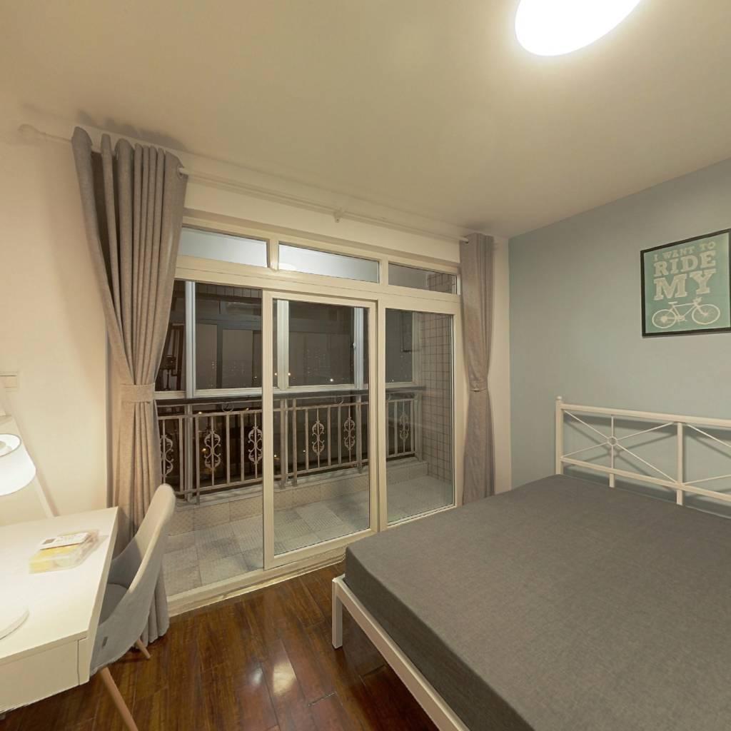 合租·蜀都花园 3室1厅 西卧室图