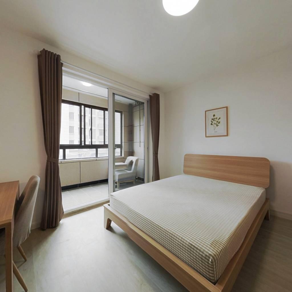 合租·嘉宝梦之月华庭 3室1厅 北卧室图