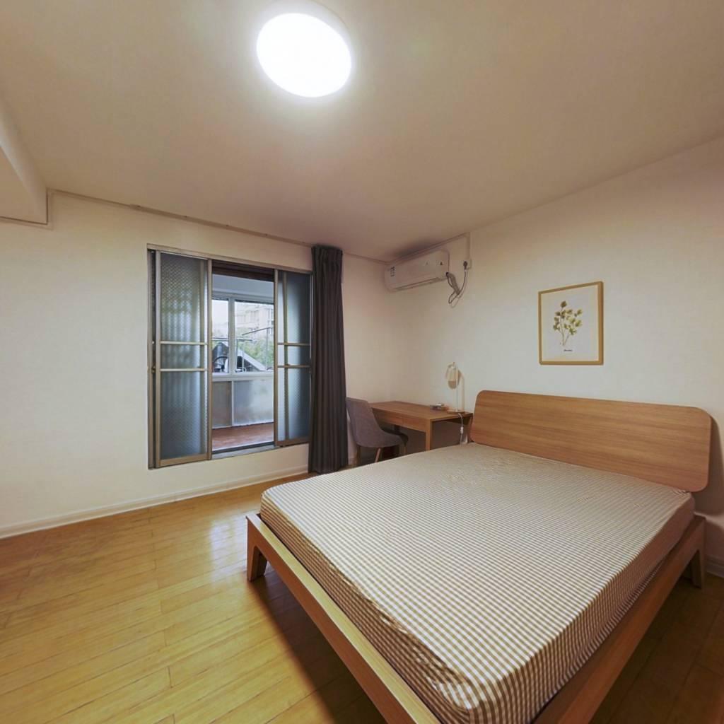 合租·滨江家园 4室1厅 西卧室图