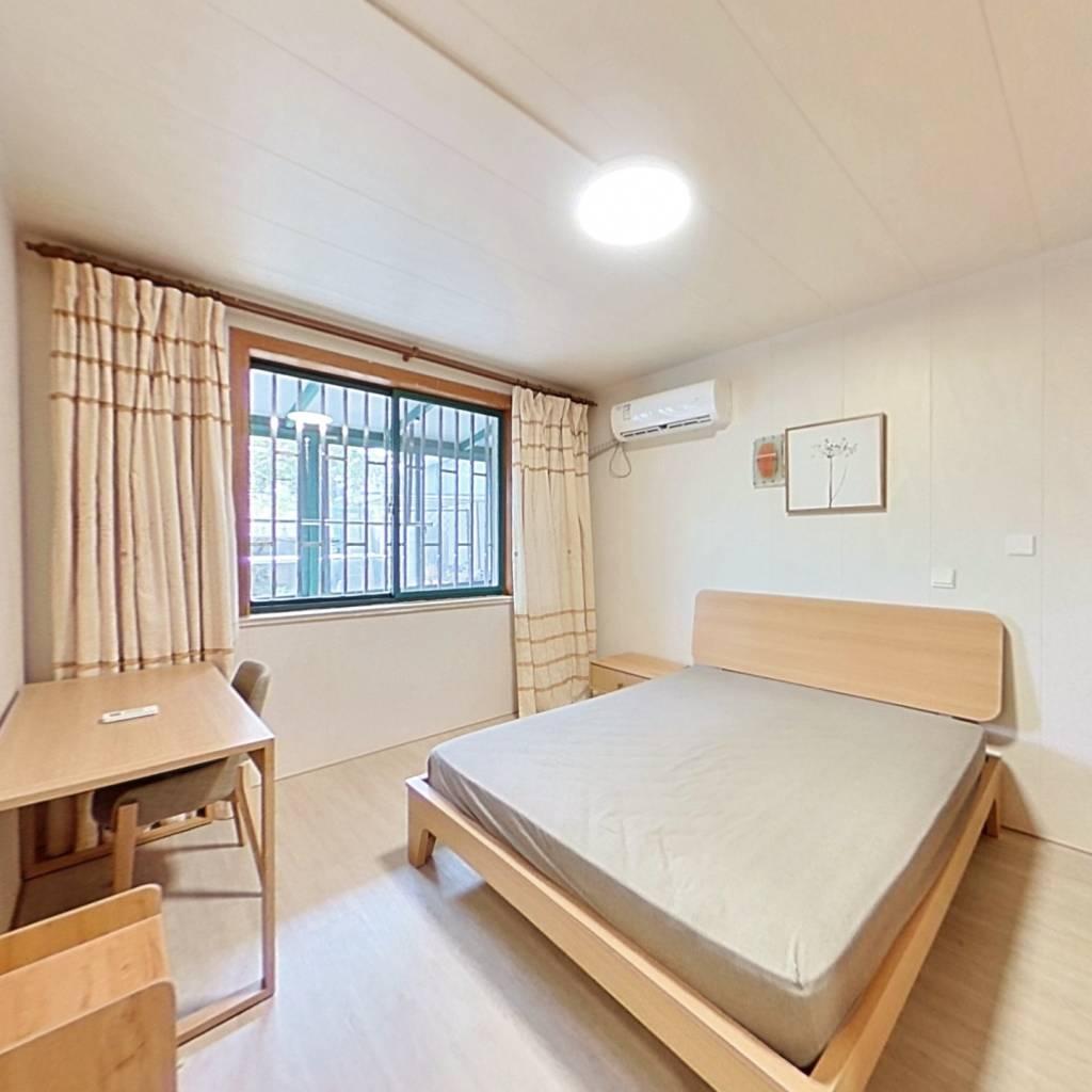 整租·万馨佳园 1室1厅 南卧室图