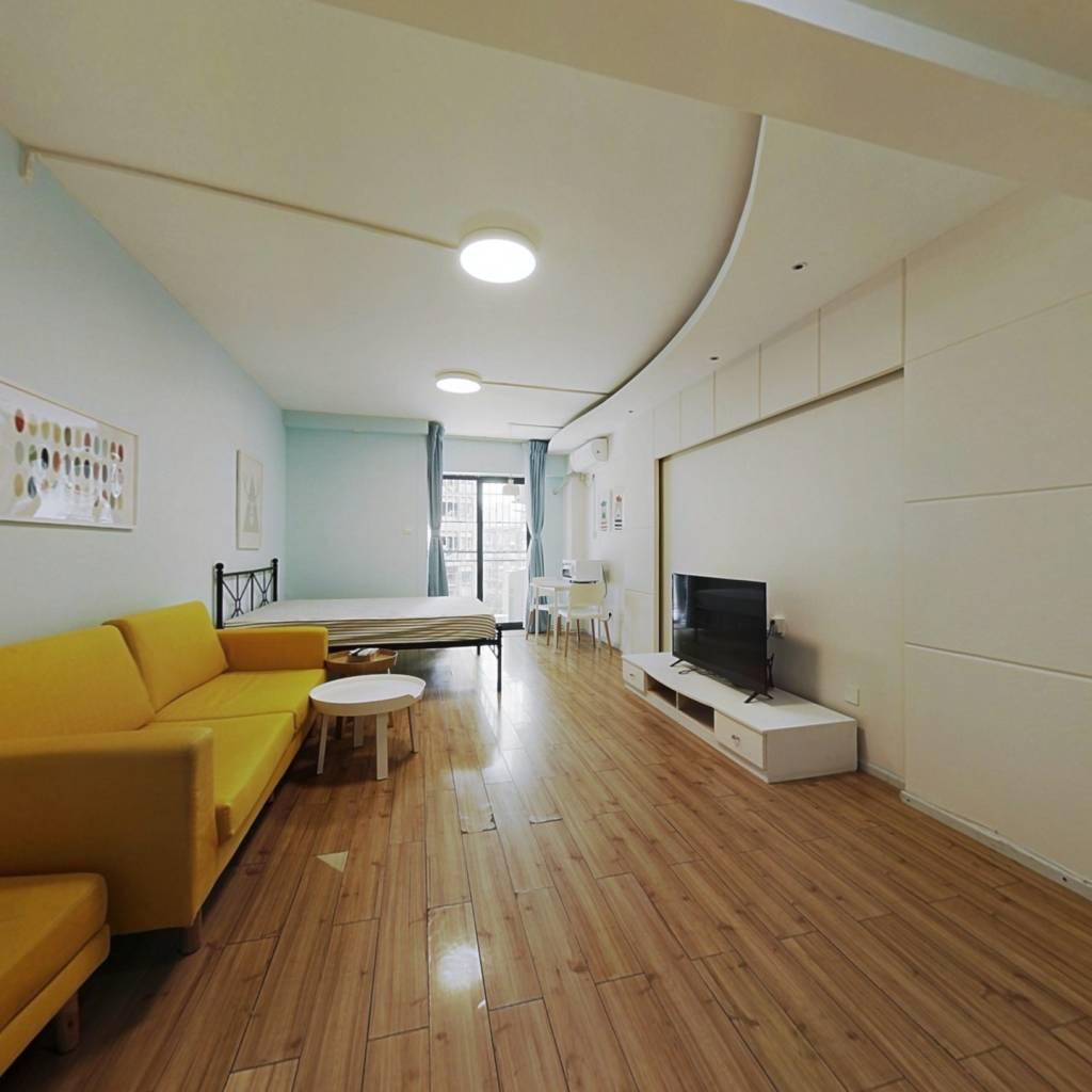 整租·时代印象 1室1厅 东南卧室图
