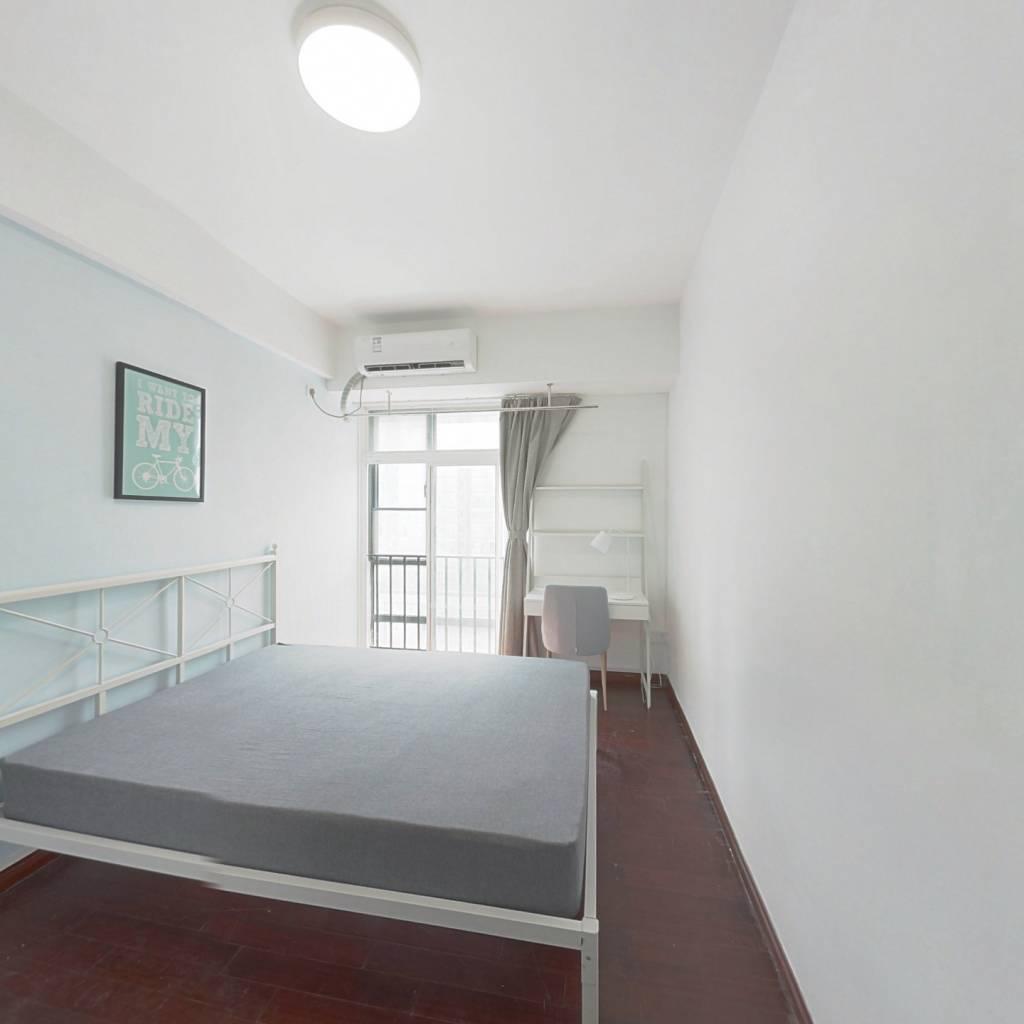 合租·嘉宝华庭 4室1厅 西卧室图