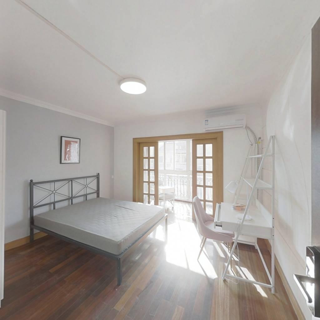 合租·五彩星辰 3室1厅 南卧室图