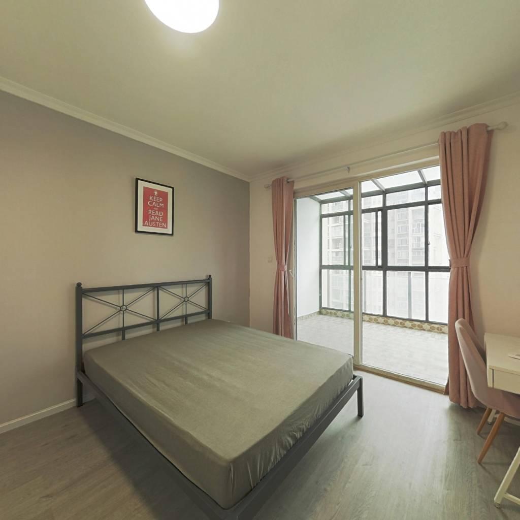 合租·首创国际城二期 3室1厅 北卧室图