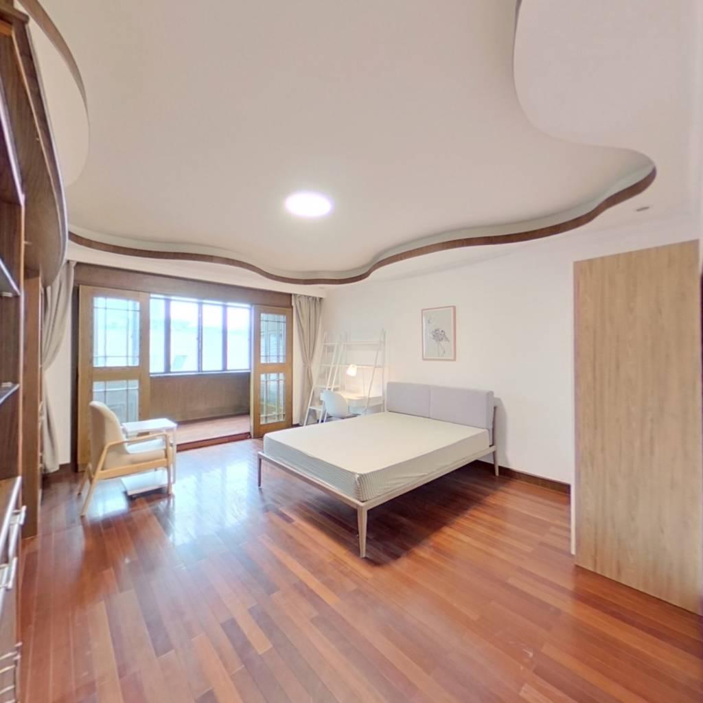合租·仁和苑 4室1厅 北卧室图