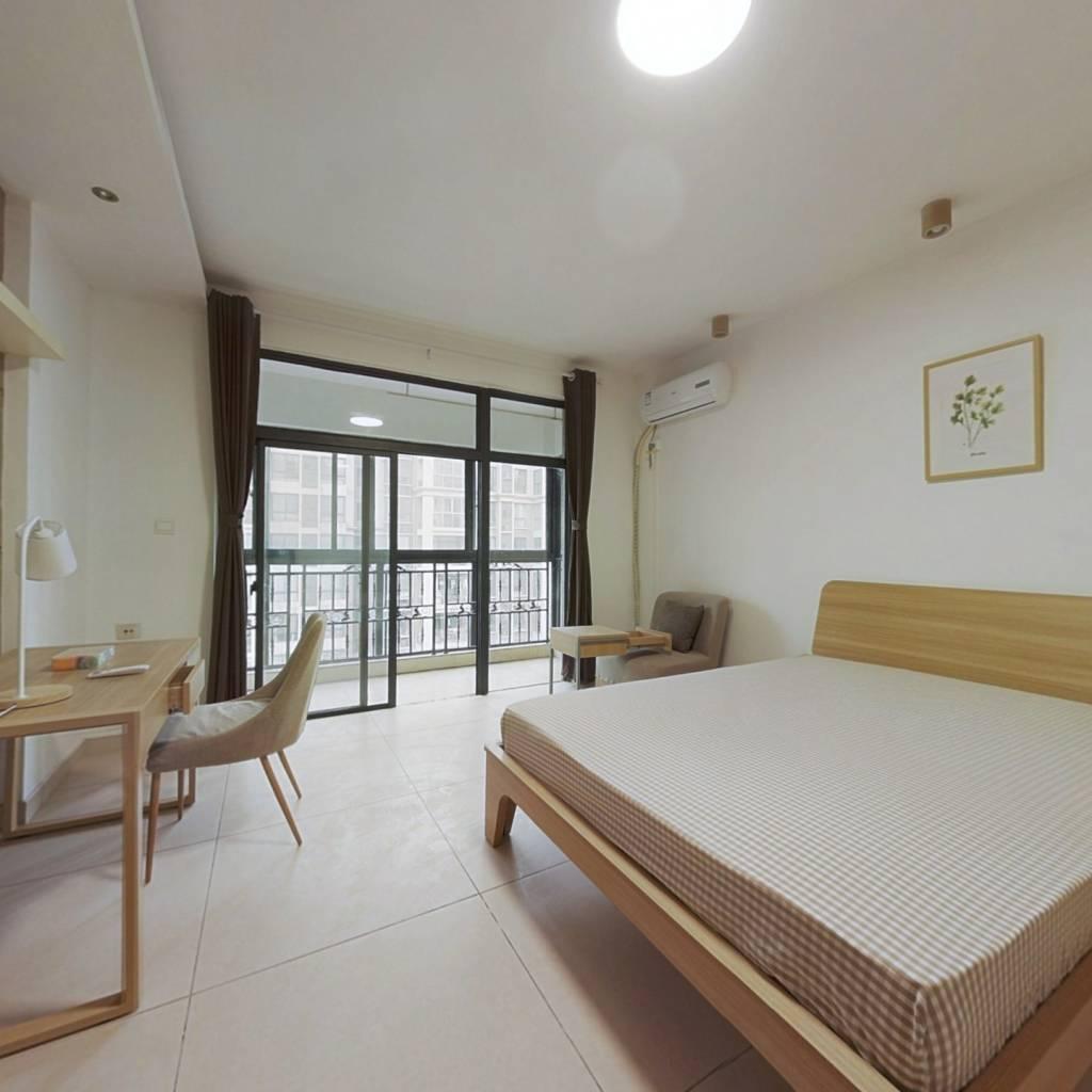 合租·新里维多利亚公寓 4室1厅 北卧室图