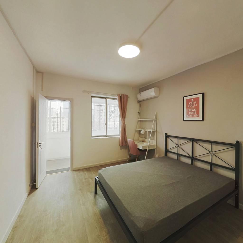 合租·广州路39号 3室1厅 南卧室图