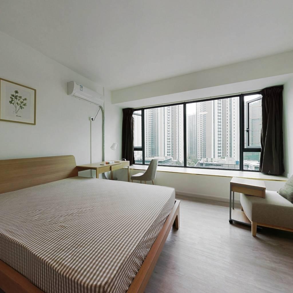 合租·建发鹭洲国际 4室1厅 北卧室图