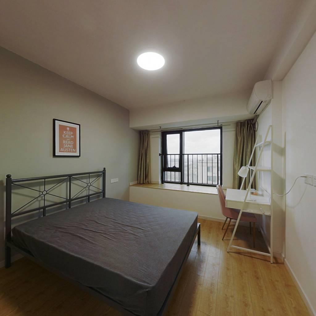 合租·佳兆业君汇上品 4室1厅 南卧室图