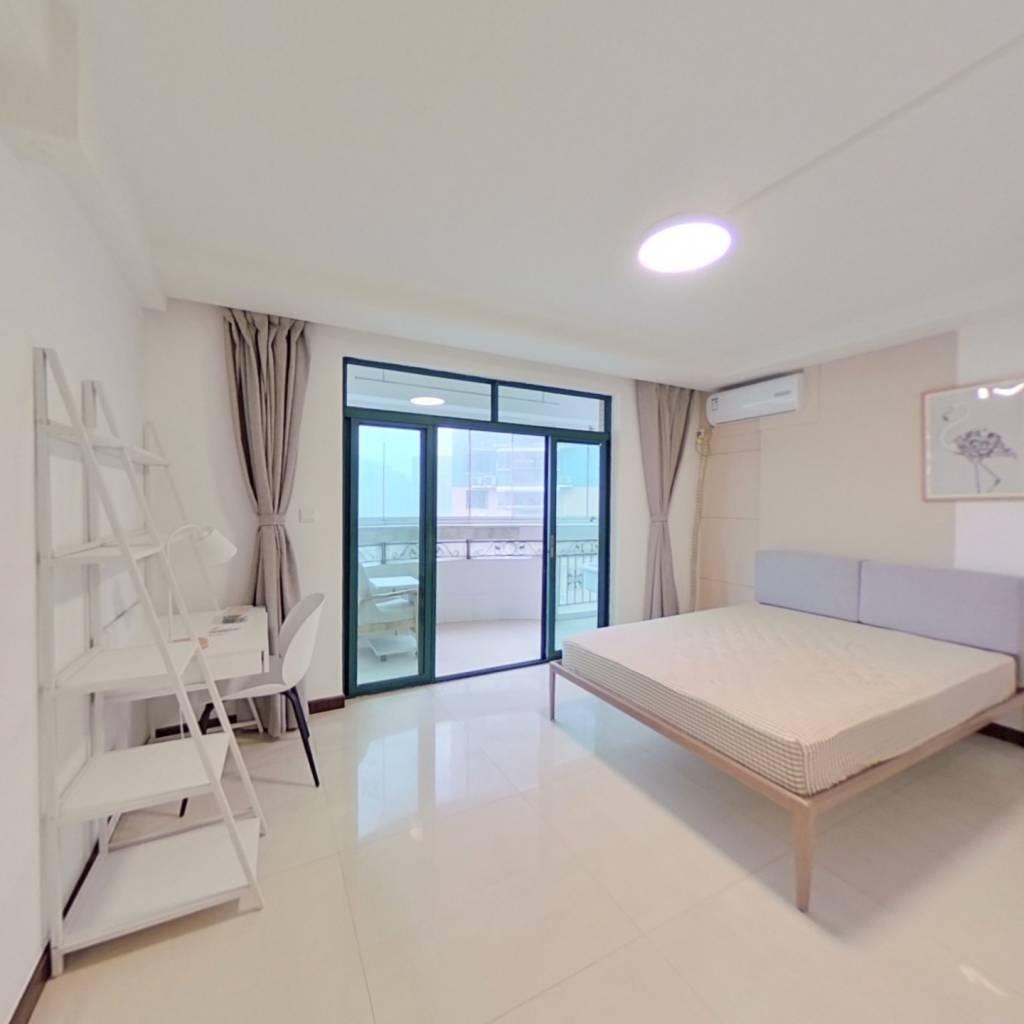 合租·香港丽园 4室1厅 南卧室图