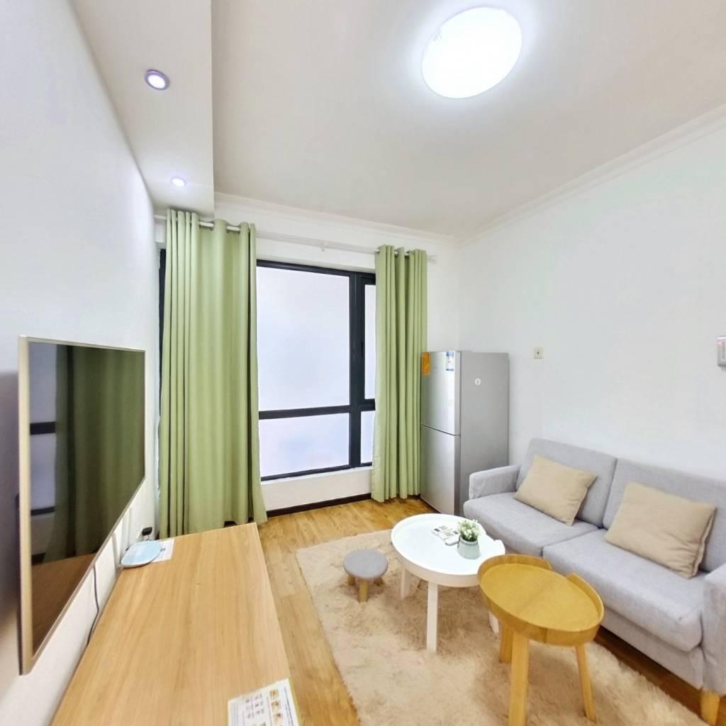 整租·星海名城六期 1室1厅 南卧室图